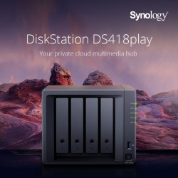 Synology presenta il nuovo DiskStation DS418play