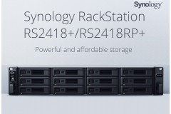 Synology presenta RackStation RS2418+ E RS2418RP+